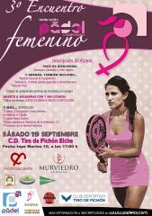 III Encuentro Padel Femenino