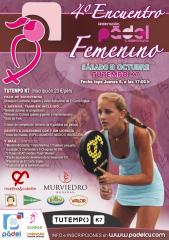 IV Encuentro Padel Femenino - Valencia