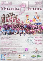 V Encuentro Padel Femenino - Valencia