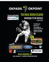 OKPADEL Americano Domingo 12 Mañana 9:00 a 12:00